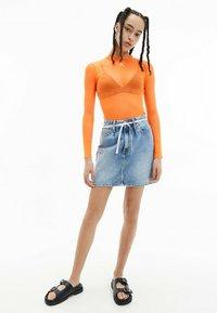 Calvin Klein Jeans - A-line skirt - denim light - 1