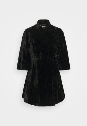KIMONO WRAP DRESS - Kjole - black