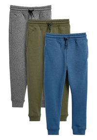 Next - MULTI BLACK SLIM FIT 3 PACK JOGGERS (3-16YRS) - Trainingsbroek - grey - 0