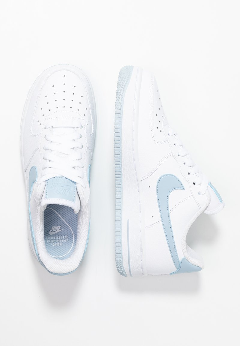 Nike Sportswear Air Force 1 07 Sneakers Laag White Light Armory Blue Wit Zalando Nl