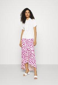 Fabienne Chapot - CORA SKIRT - Zavinovací sukně - white/pink - 1