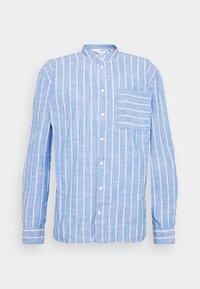 ALVIN STRIPED - Shirt - chambray blue