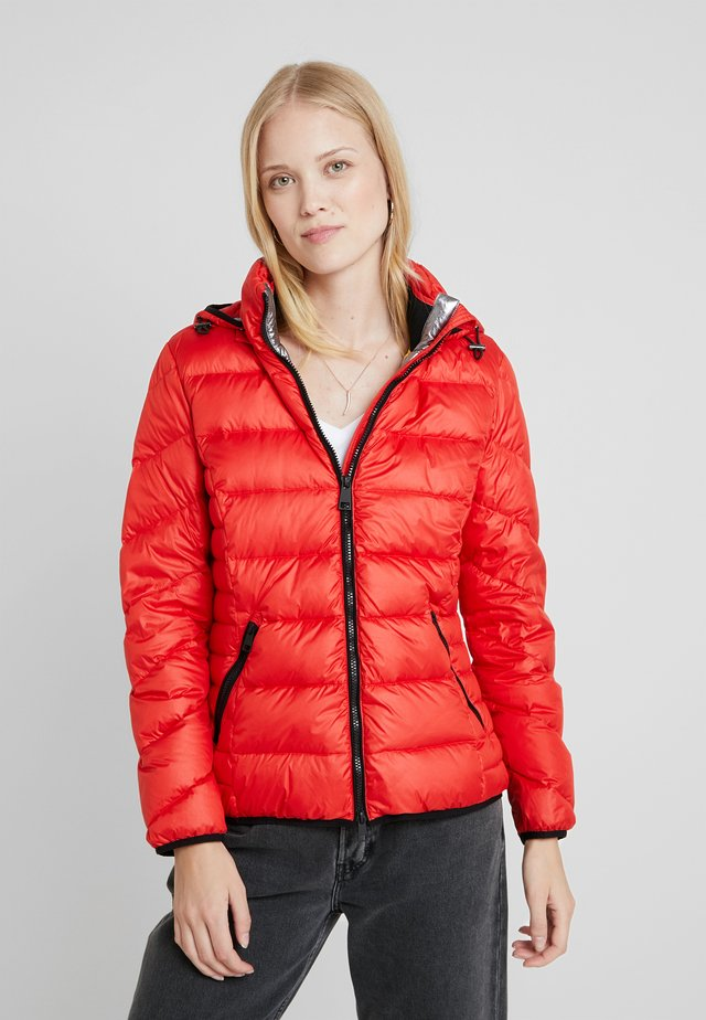 Down jacket - signal red