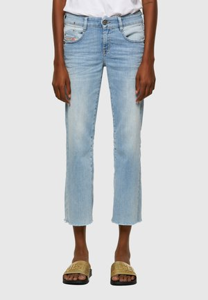 EBBEY  - Straight leg jeans - light blue