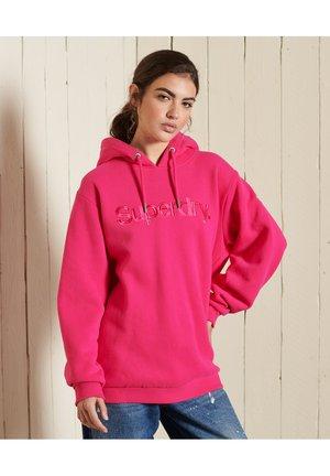 CORE LOGO SOURCE  - Hoodie - hot pink