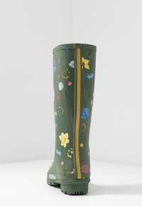 Tom Joule - ROLL UP WELLY - Stivali di gomma - green - 5