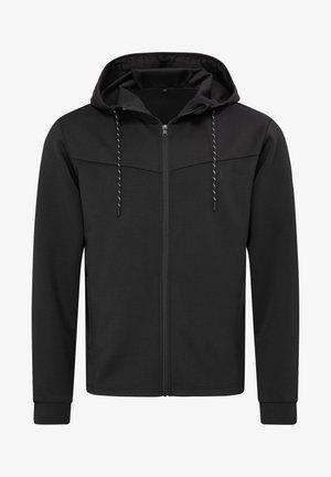 Zip-up hoodie - black opal