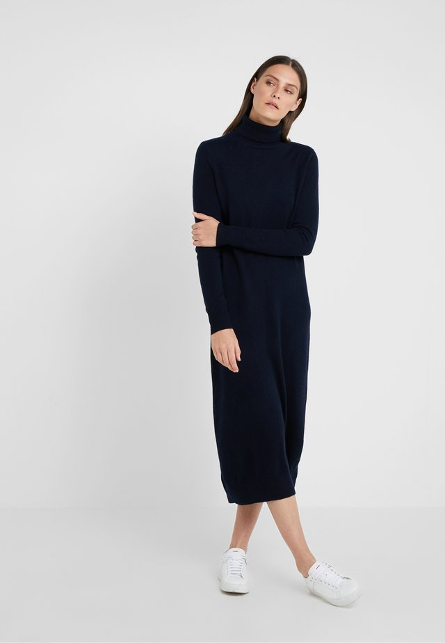 TURTLENECK  DRESS - Maxiklänning - dark navy