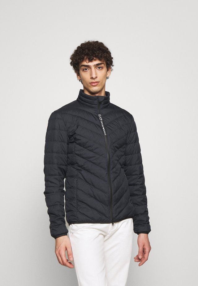 GIACCA - Down jacket - blue notte