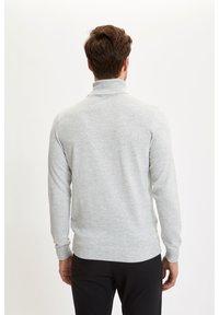 DeFacto - Stickad tröja - grey - 1