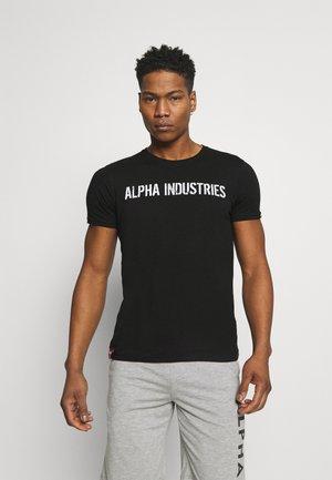 MOTO  - T-shirt con stampa - black