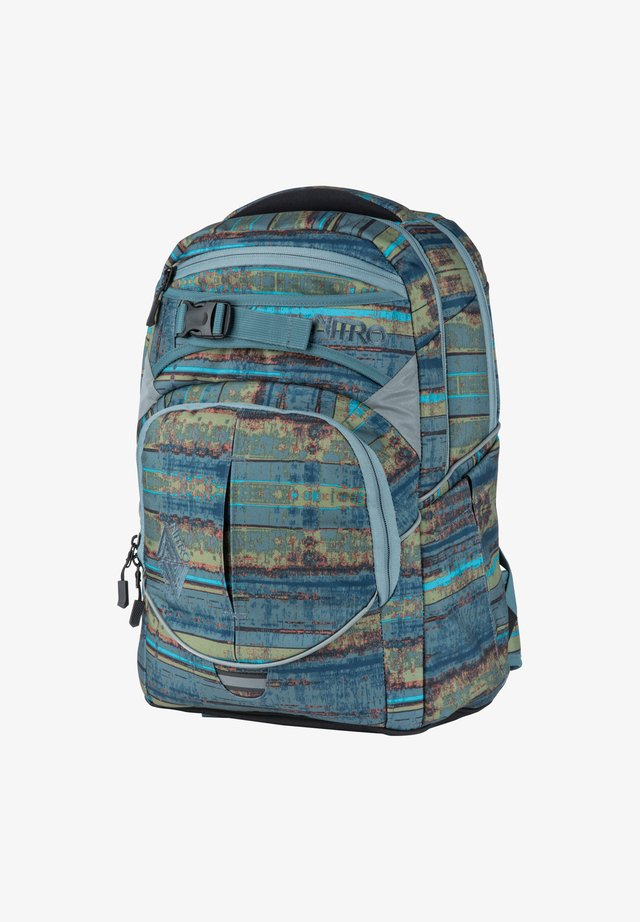 SUPERHERO - Rucksack - frequency blue