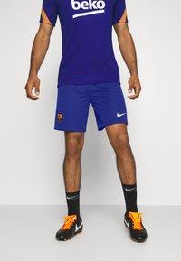 Nike Performance - FC BARCELONA SHORT HA - Sports shorts - deep royal blue/varsity - 0