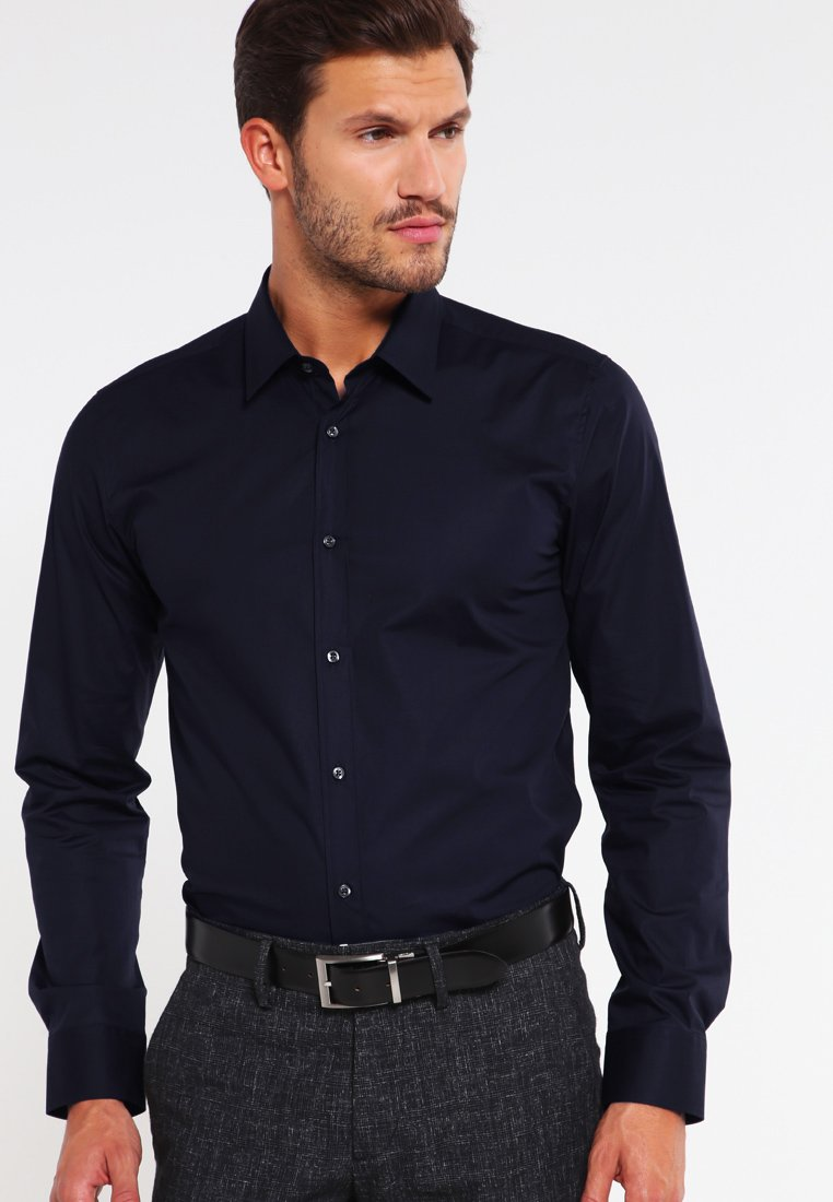 HUGO - ELISHA EXTRA SLIM FIT - Formal shirt - open blue