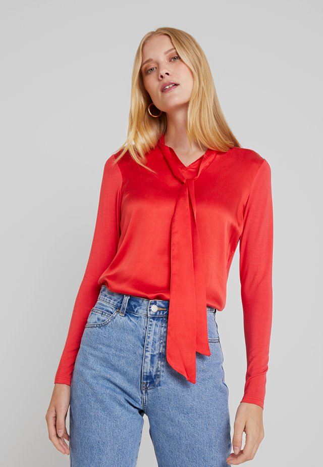 GIRALDO - Blouse - tomato red