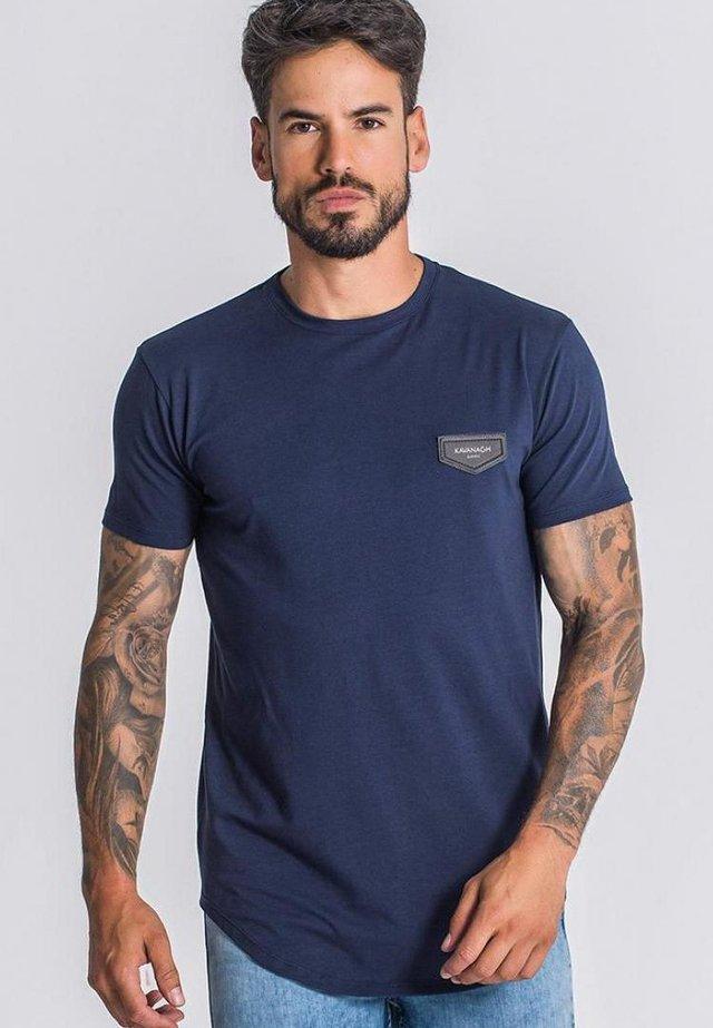 Top - navy blue