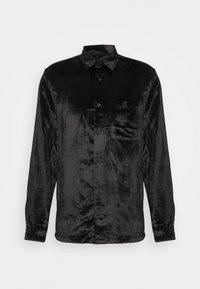 Topman - OXBLOOD - Formal shirt - black - 3