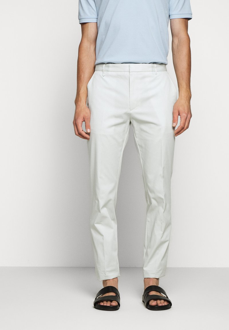 HUGO - HELDOR - Oblekové kalhoty - natural