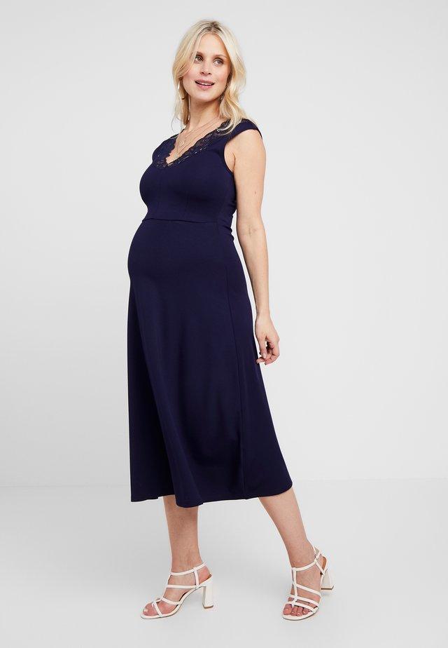 Sukienka z dżerseju - maritime blue