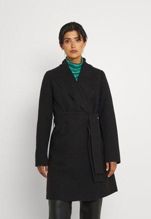 VIAPPLE NEW COAT - Klasický kabát - black