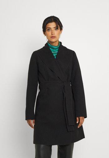 VIAPPLE NEW COAT - Klasyczny płaszcz - black