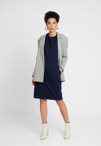 Betty & Co - Jersey dress - blue - 1