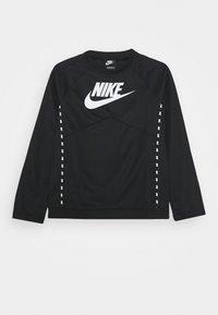 Nike Sportswear - CREW - Longsleeve - black/white - 0
