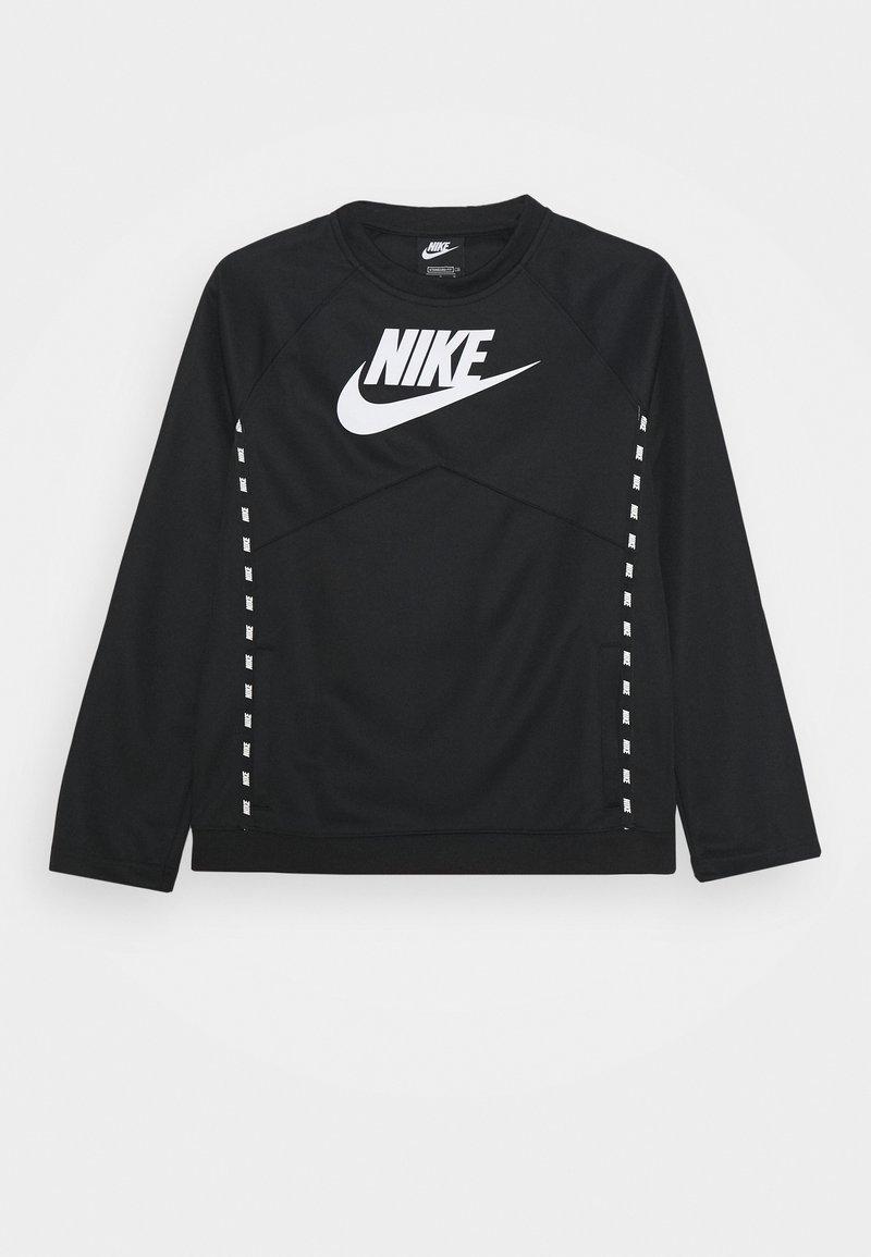 Nike Sportswear - CREW - Longsleeve - black/white