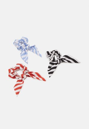 PCCICCIA BOW SCRUNCHIE 3 PACK - Haar-Styling-Accessoires - kentucky blue/red