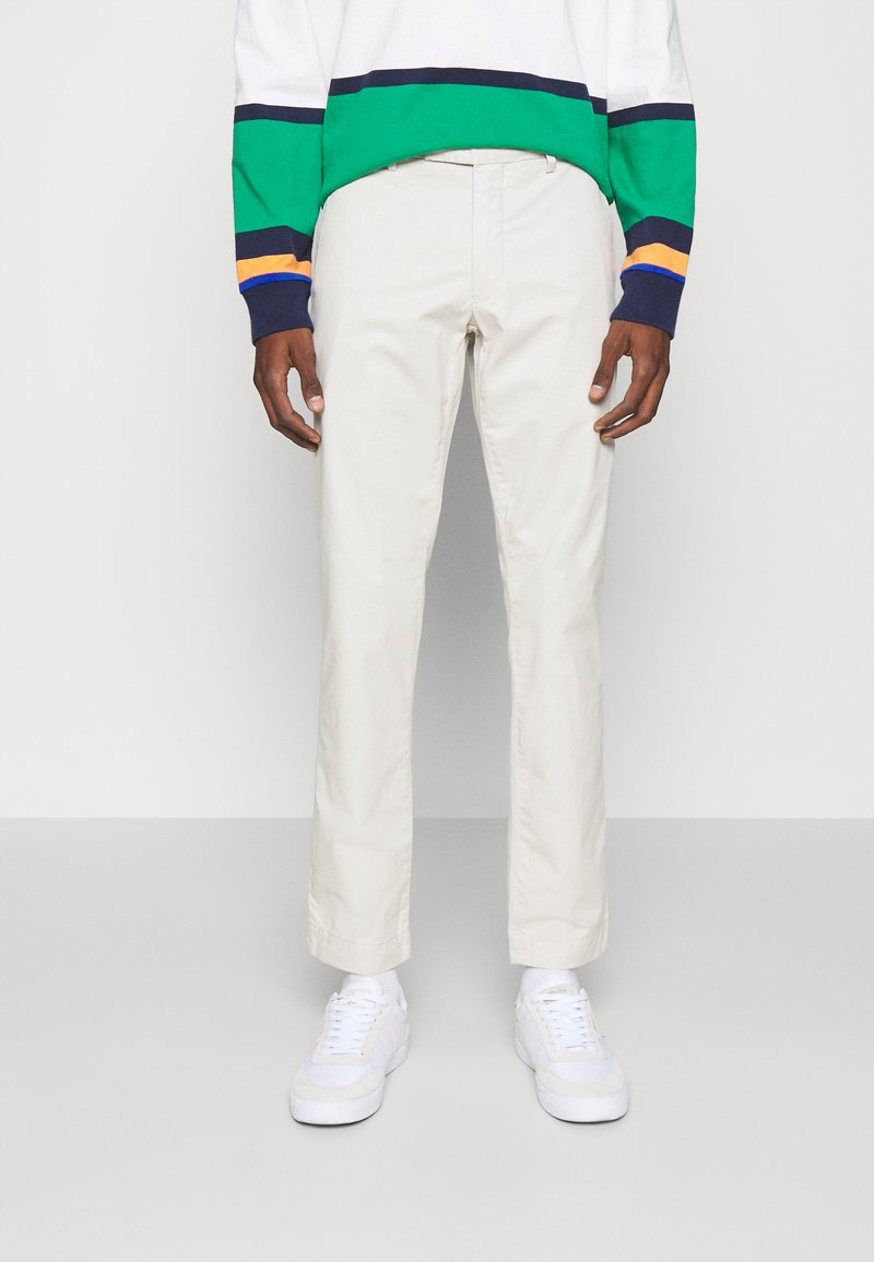 Polo Ralph Lauren - STRETCH SLIM FIT COTTON CHINO - Trousers - dove grey