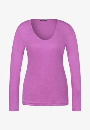 BASIC STYLE - Long sleeved top - rosa