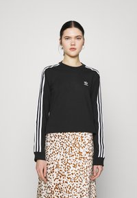 adidas Originals - Camiseta de manga larga - black - 0