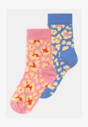EXCLUSIVE ABSTRACT LEO 2 PACK UNISEX - Socks - multi-coloured