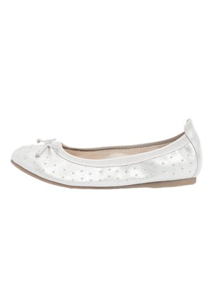 PINK STUDDED FLEXI BALLET SHOES (OLDER) - Ballerines - silver