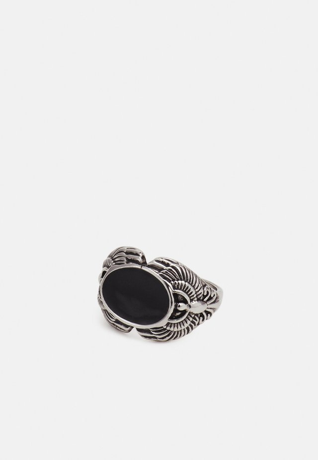 ENGRAVED SIGNET - Ring - black