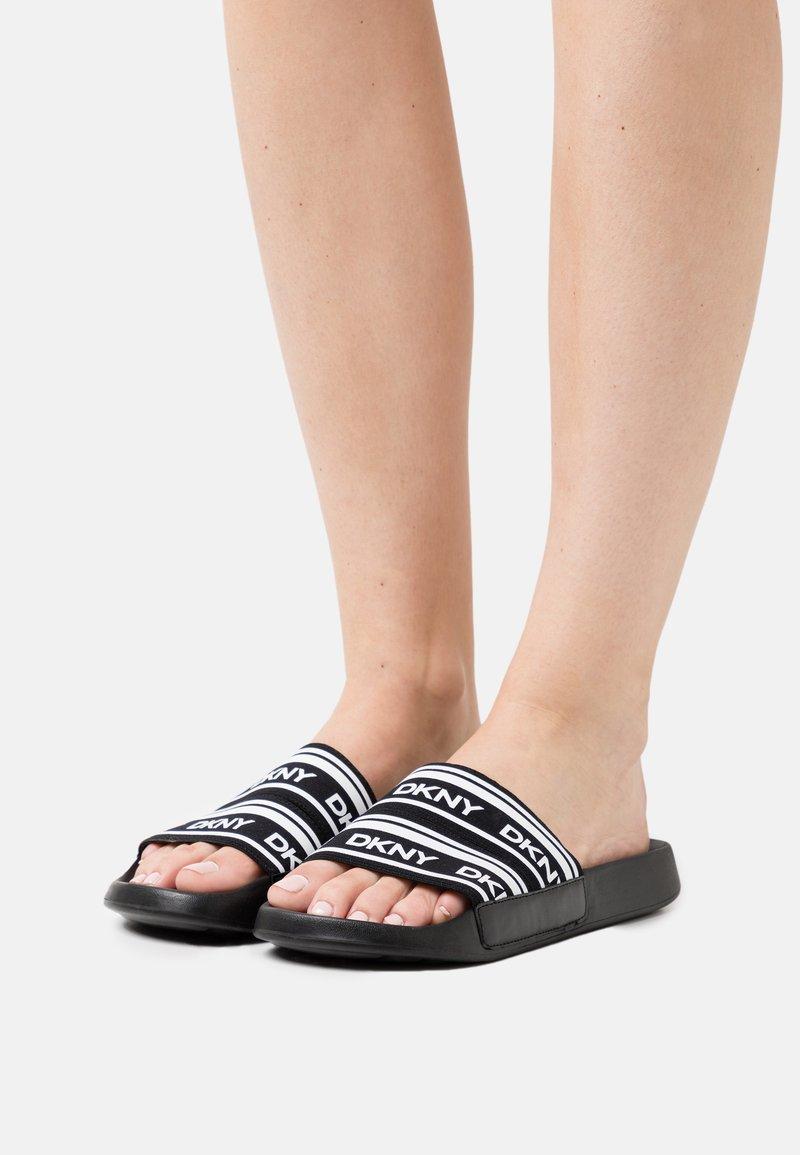 DKNY - ZALE - Mules - black/white