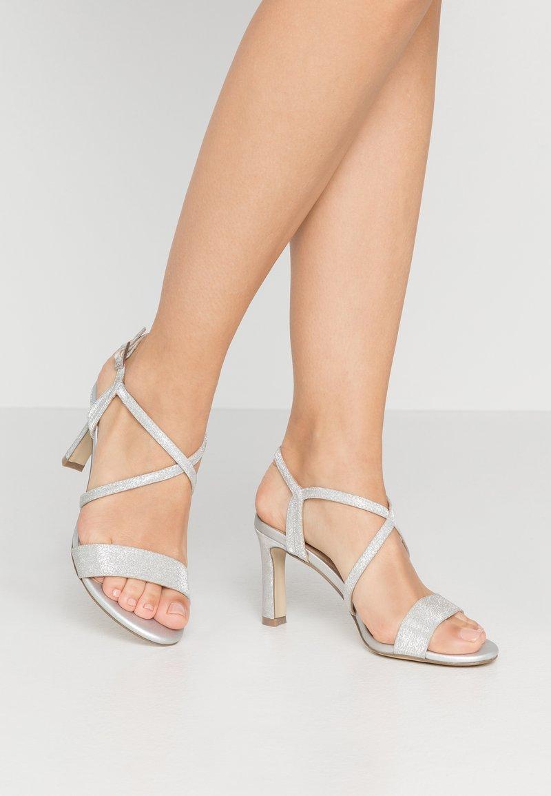 Menbur - Sandály na vysokém podpatku - silver