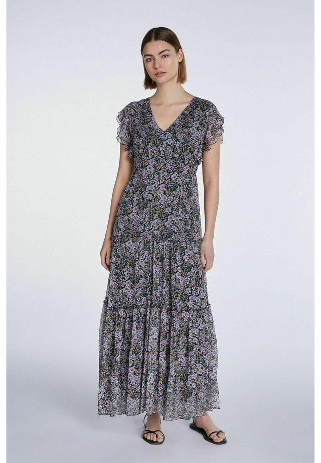 Maxi dress - black violett