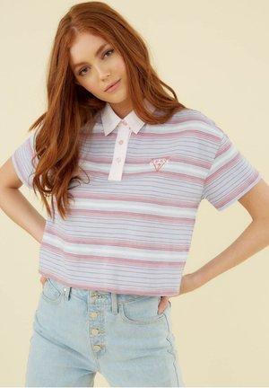 Polo shirt - gemustert multicolor