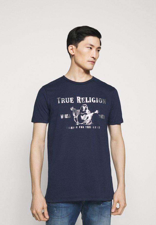 CORE LOGO TEE - T-shirt print - navy