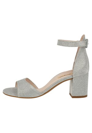 PAUL GREEN SANDALEN - Pumps - silber metallic