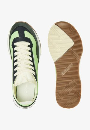 Zapatillas - lt grn off wht