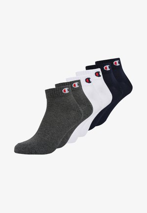 6 PACK - Trainer socks - navy/white