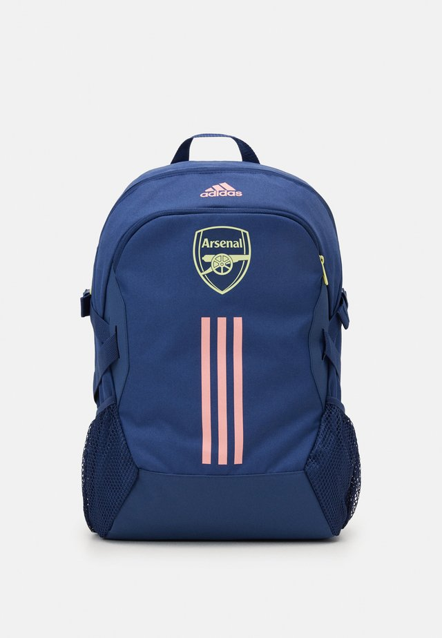 ARSENAL FC SPORTS FOOTBALL BACKPACK - Rucksack - dark blue/pink