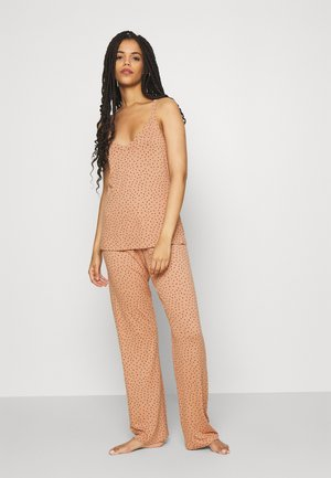 ONLKALA STRAP NIGHTWEAR SET - Pyjamas - cork