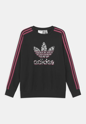 ANIMAL TREFOIL  - Sweatshirt - black/pink