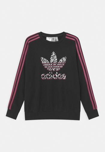 ANIMAL TREFOIL  - Sweatshirt - black/pink