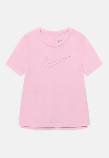 ONE - T-shirt con stampa - pink foam/light smoke grey