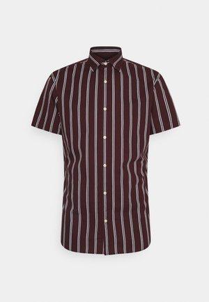 JJCHRIS STRIPE SHIRT - Overhemd - port royale