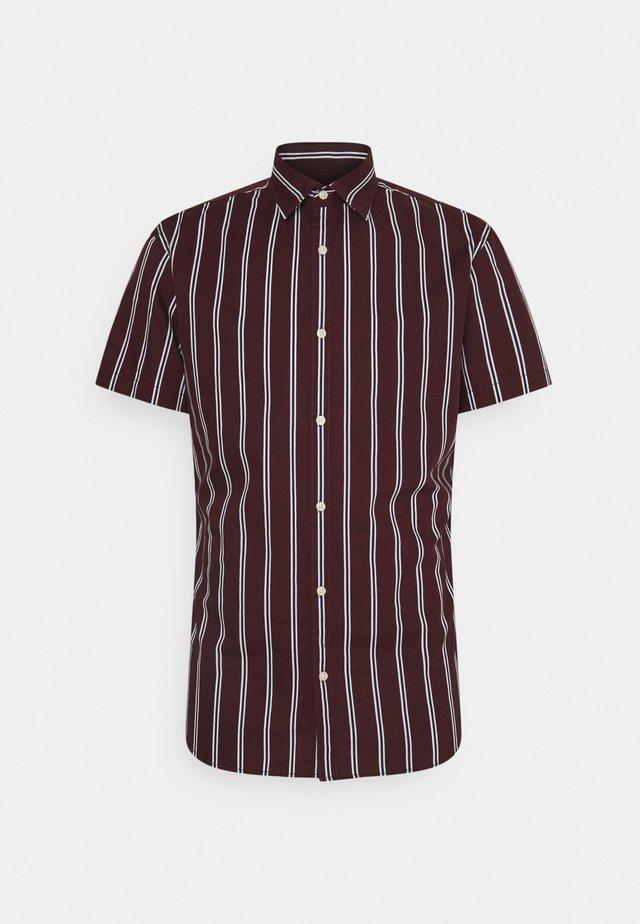 JJCHRIS STRIPE SHIRT - Shirt - port royale
